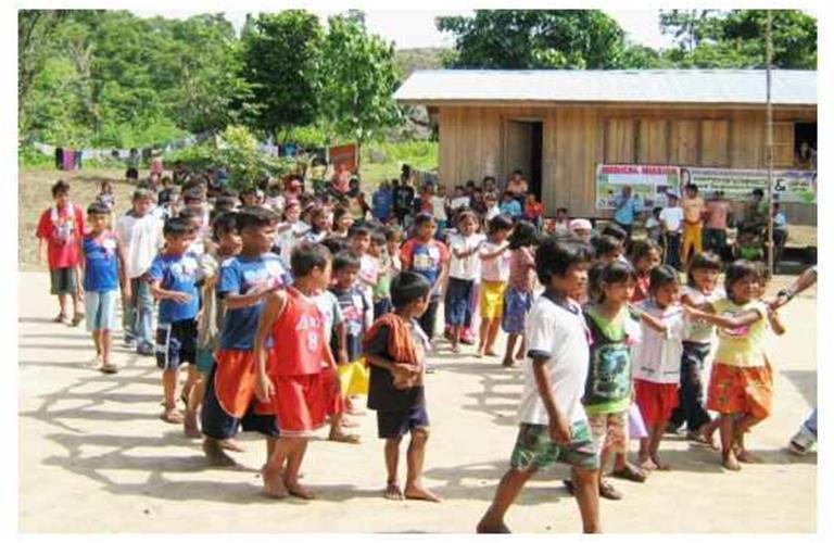 Caravan inspires far-flung Ata-Manobo village